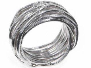 Anello filo della vita argento 925 - TORINO