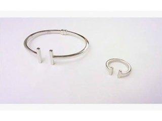 Bracciale e anello Monnalisa in argento925 - Torino