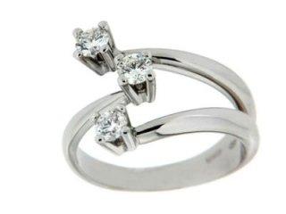 Trilogy con diamanti - Barron Gioielli