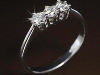 Anello con diamanti ct 0.30 - Gioielli Barron