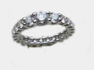 Fedina a giro di diamanti - Gioielleria Barron Torino