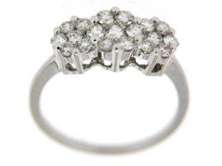 Anello diamanti - Gioielleria Torino