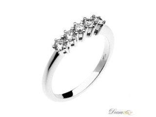 Anello diamanti - Barron Gioielli