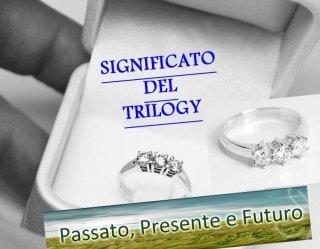 Trilogy con diamanti - Gioielleria Barron