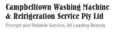 campbelltown washing machine and refrigeration service pty ltd