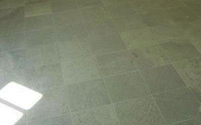 pavimento in verde spluga