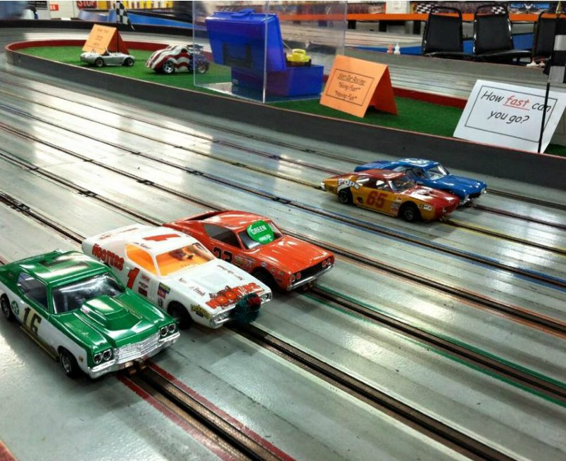 Long Island, NY, Slot Car Racing