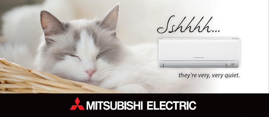 Mitsubishi heat pumps in Tauranga