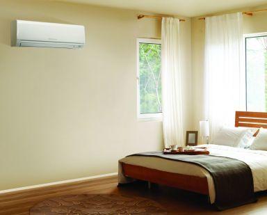 Aircon in bedroom