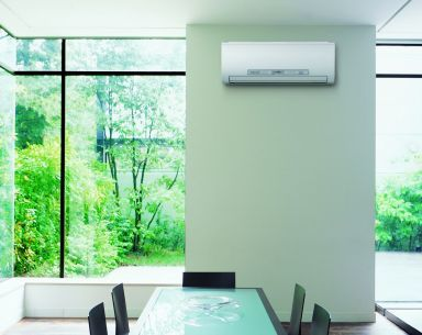 Aircon in dining room