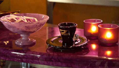 tavolo in alabastro