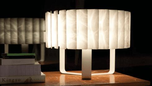 lampada in alabastro