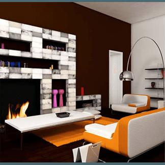 alabastro in soggiorno