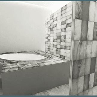 arredo bagno in alabastro
