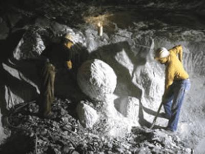escavazione alabastro