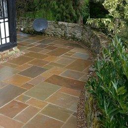 natural floor tiling