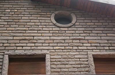 Rivestimento per muri con arenaria