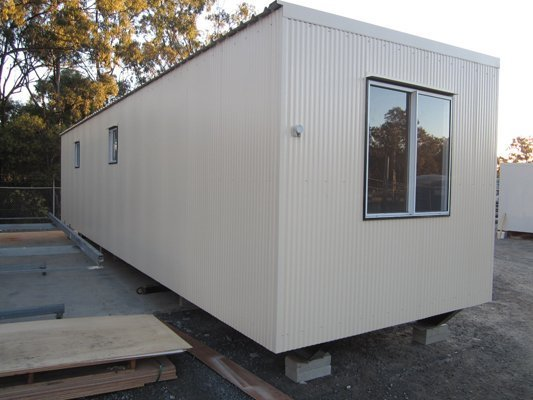View of a Large Portable Building