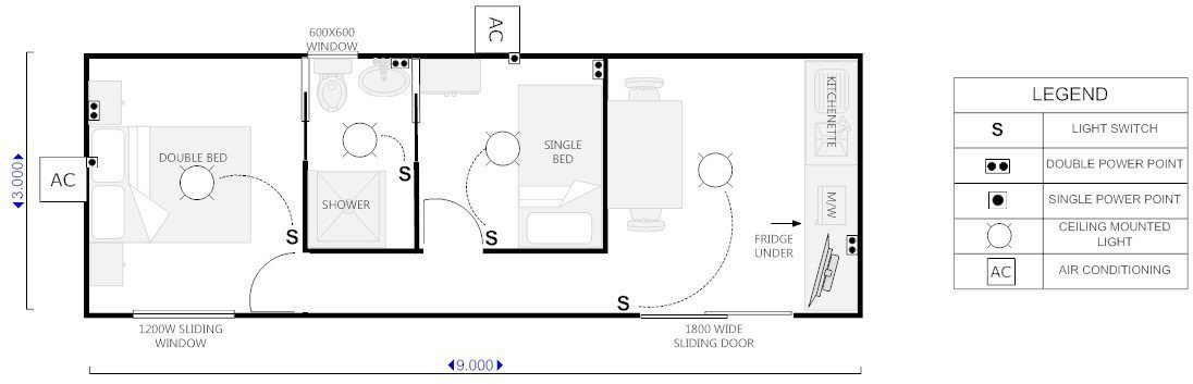 View of a floor plan