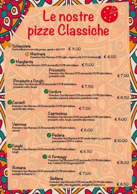 pizze classiche
