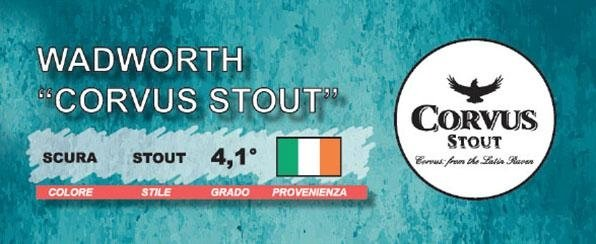 Birra Corvus Stout
