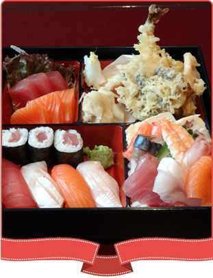 Bento box meal