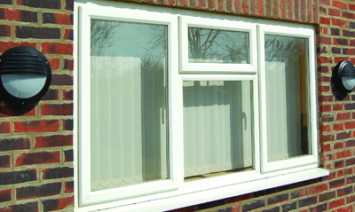 PVCu window design