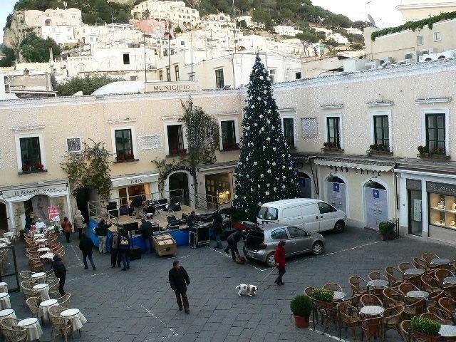 Albero gigante di Natale
