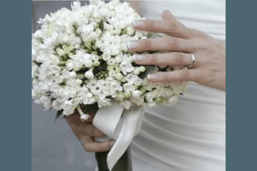 Bouquet sposa con fiori piccoli