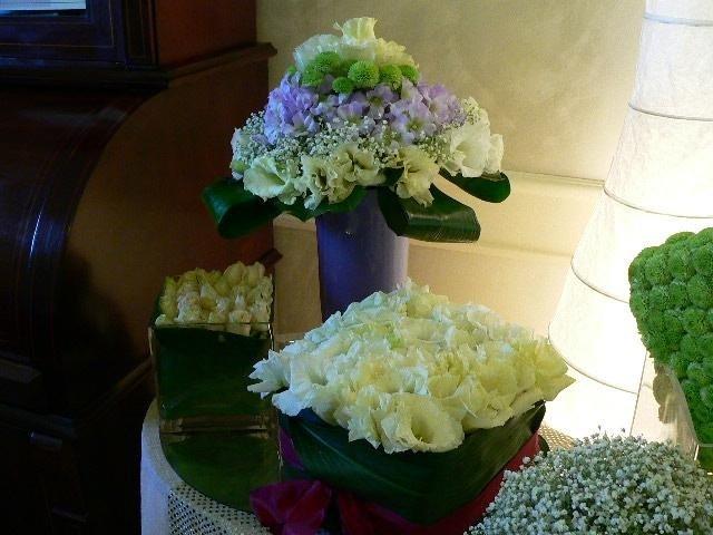 Creazioni con fiori artificiali