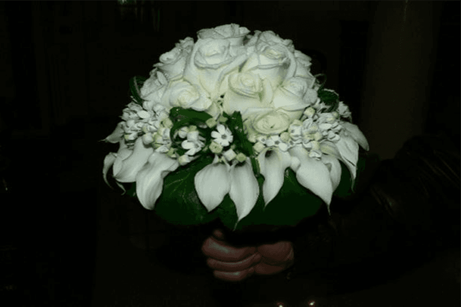 Bouquet sposa rose calle