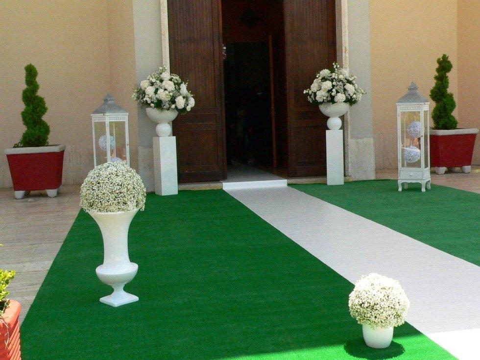 Matrimonio, allestimenti floreali