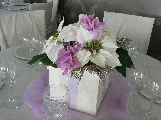 Composizione di fiori artificiali per cerimonie, My Garden Fiori