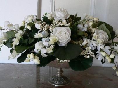 Mazzo di fiori artificiali per interni