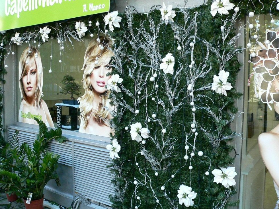 addobbi natalizio per attività commerciali, My Garden