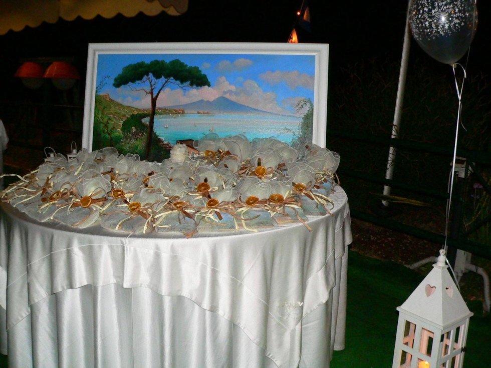 Matrimonio confettata