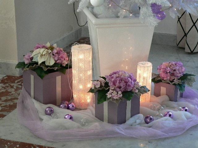 Composizioni con fiori artificiali