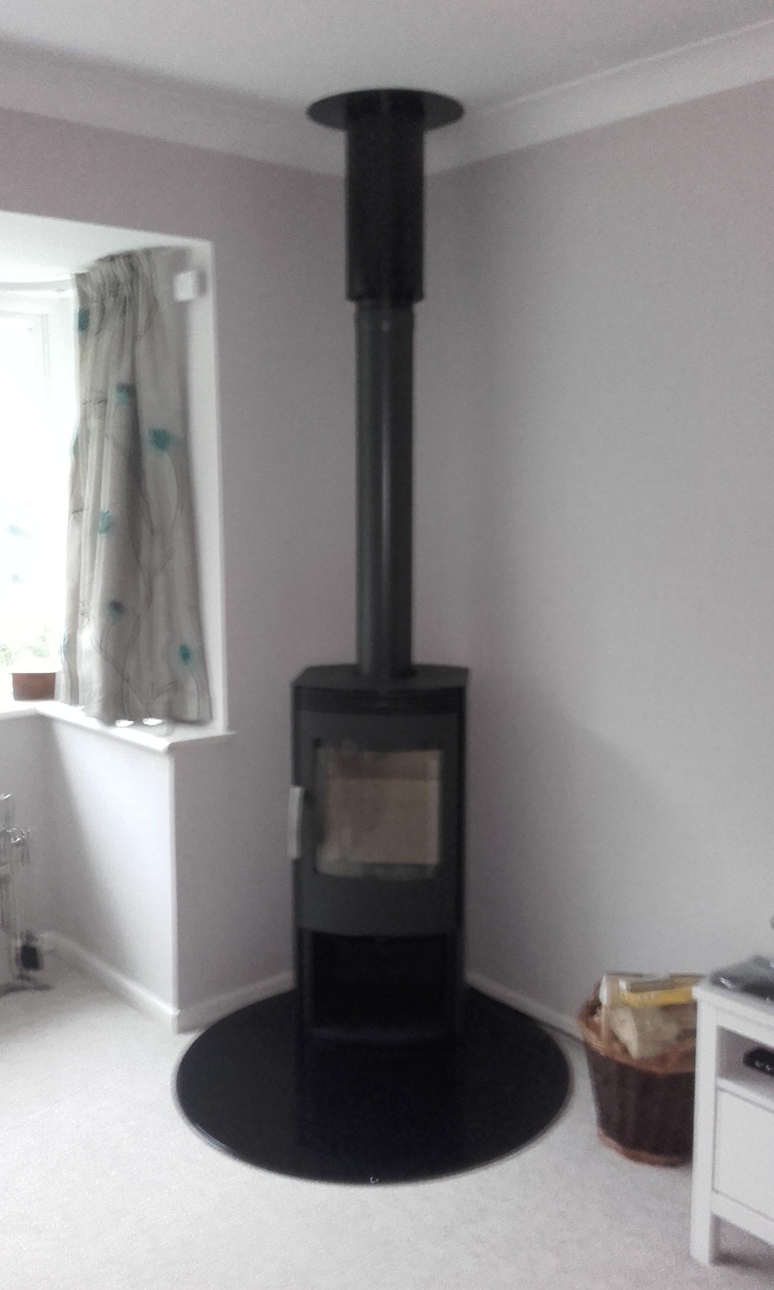 domestic woodburner