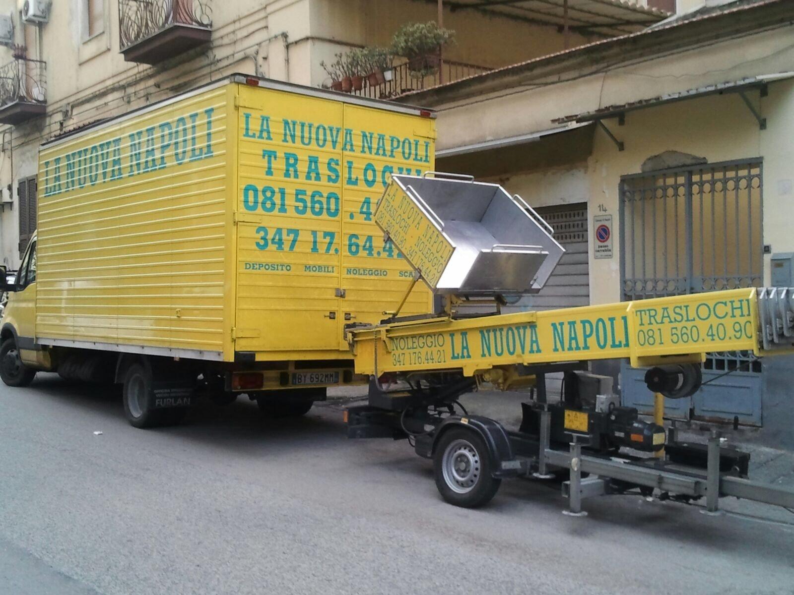 Traslochi e trasporto Napoli e e provincia