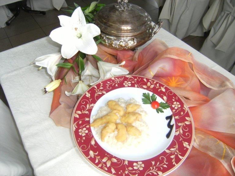 risotto mantecato al pesce persico