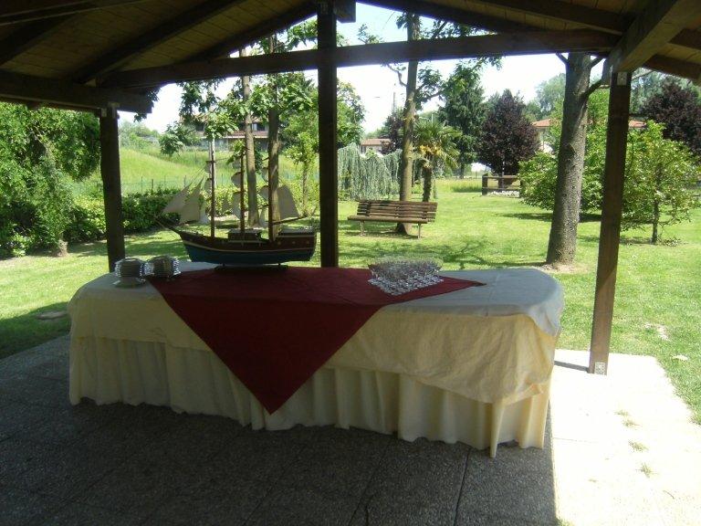 giardino per cerimonia