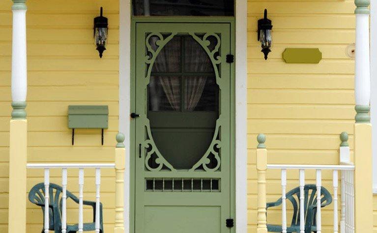 flyscreen door