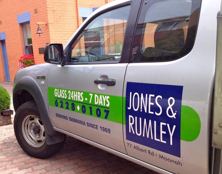 jones and rumley company car
