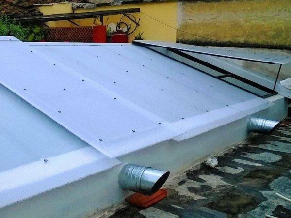 tetto trasparente