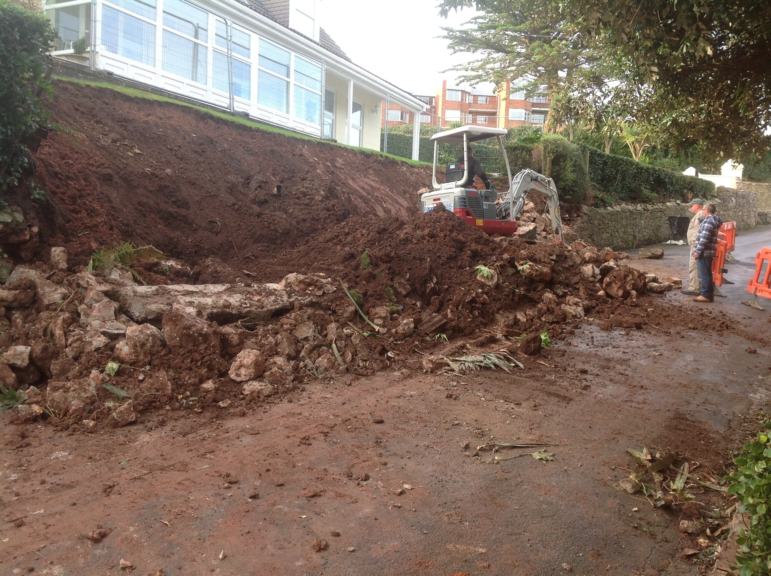 site being cleared