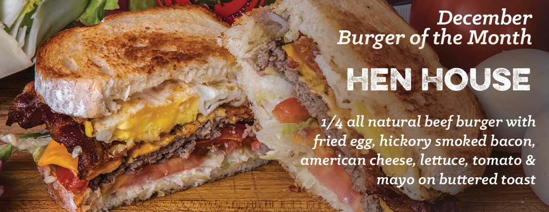 Firecracker Burger of the Month