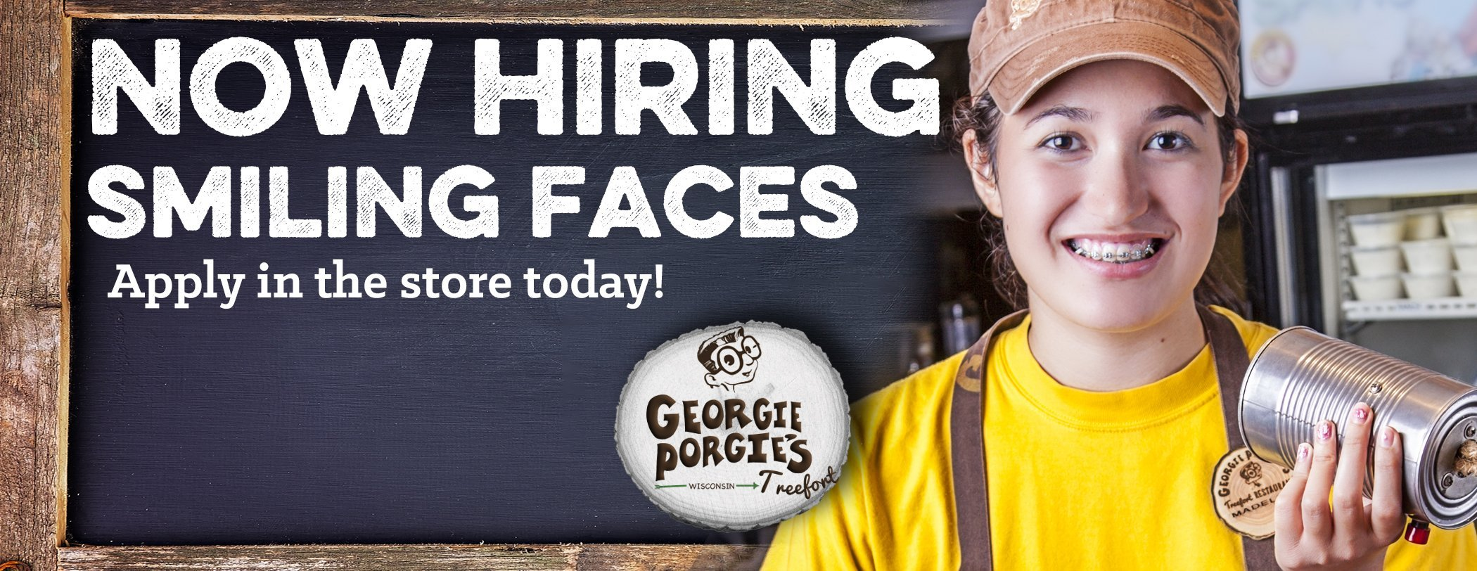 Now Hiring at Georgie Porgies