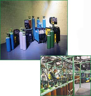 Bottled gas catering equipment