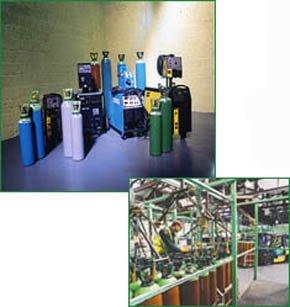 Bottled gas catering equipment
