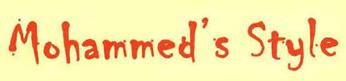 Sartoria su misura Mohammed's Style-Logo